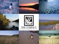 Blankets & Belts - The Compact of Cape Cod Conservation Trusts