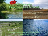 Vanessa Johnson, Land Conservation Project Manager, Essex. Co ...
