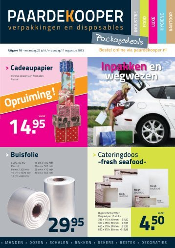 Packagedeals 10 2013 - Paardekooper