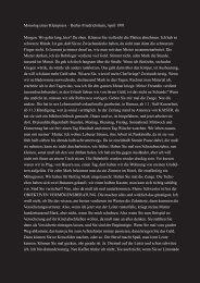 Monolog eines Klemptners - Stephan Suschke