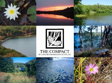 Executive Director - Compact of Cape Cod Conservation Trusts