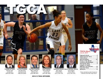 Jan - Texas Girls Coaches Association