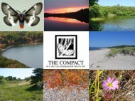 Land Bank Presentation (PDF) - The Compact of Cape Cod ...