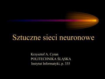 Wykład 10 - ZMiTAC - Politechnika Śląska
