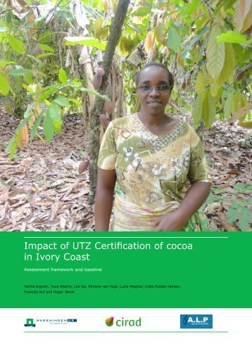 2014 Impact of UTZ certification of cocoa in Ivory Coast FINAL REPORT
