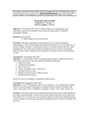 topographic surveying lecture notes pdf