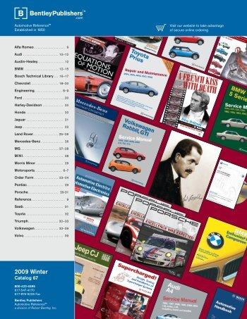 2009 Winter - Bentley Publishers