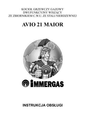 AVIO 21 MAIOR - Immergas