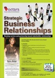 Strategic Business Relationships - Octara.com