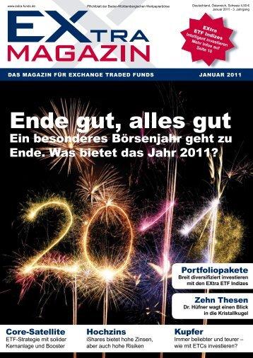 Ende gut, alles gut. Jahresrückblick. - EXtra-Magazin