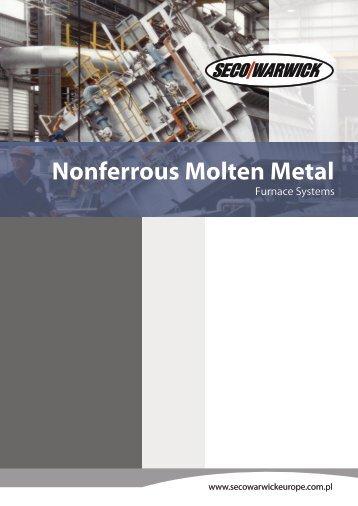 Nonferrous Molten Metal Furnaces Systems - Seco-Warwick