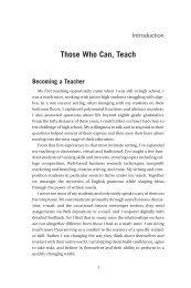 Those Who Can, Teach - Books