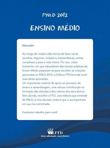 Arquivo PDF - Editora FTD