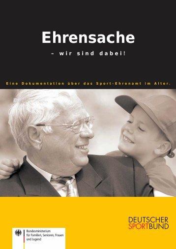 """Dokumentation """"Ehrensache - wir sind dabei"""" - Richtig Fit ab 50"""
