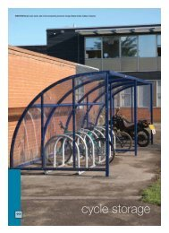 Cycle Storage - RIBA Product Selector