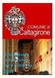 Rendiconto della Gestione per il cittadino 2011 - Comune di ...