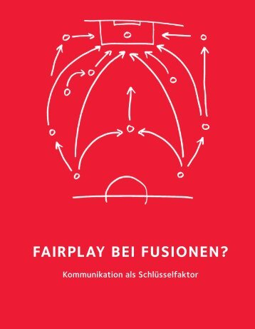 FAIRPLAY BEI FUSIONEN?