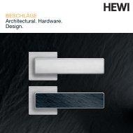HEWI Beschläge - RIBA Product Selector
