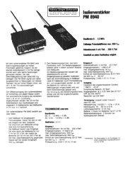 PM 8940 - Helmut Singer Elektronik