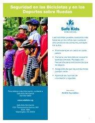 Seguridad en las Bicicletas y en los Deportes sobre Ruedas
