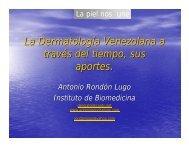 Aportes de la dermatologia venezolana.pdf - Antonio Rondón Lugo