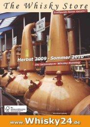 Sommer 2010 - Whisky