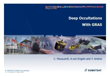 (Microsoft PowerPoint - GRAS_Deep_Occultations.ppt [\254\333 ...