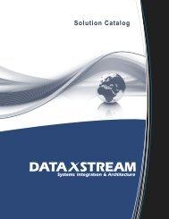 Solution Catalog - DataXstream