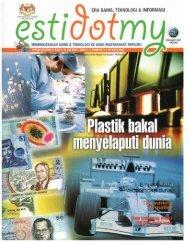 Plastik Bakal Menyelaputi Dunia - Portal Rasmi Akademi Sains ...
