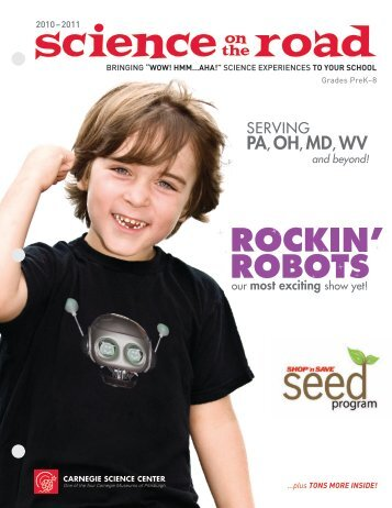 PA, OH, MD, WV - Carnegie Science Center