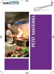 telecharger le catalogue pdf - Agencement-restauration.com