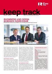 Download Keep Track Ausgabe 1_2012 - Bahntechnik