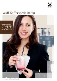 WMF Kaffeespezialitäten