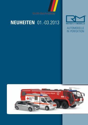 NEUHEITEN 01.-03.2013 - Rietze