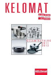 G E S A M T  K A T A L O G 2 0 1 1 2 0 1 - RIESS KELOmat GmbH