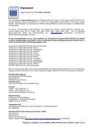 Das Impressum hier im PDF-Format herunterladen. - CMSweb ...