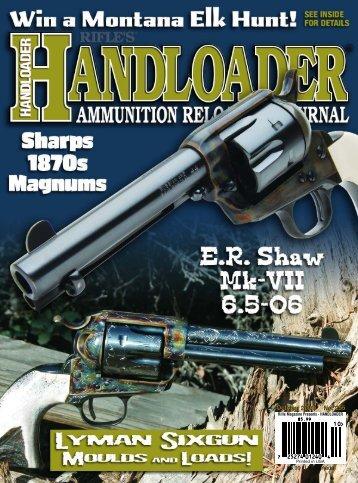 Handloader Magazine - Wolfe Publishing Company