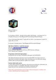 BOLLETTINO n.3 12 Aprile 2011 La X edizione di IFAE ... - INFN