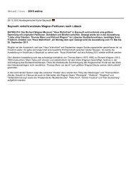 Aktuell | News – 2010 online Bayreuth verleiht erstmals Wagner ...