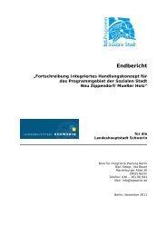 Integriertes Handlungskonzept Soziale Stadt Neu Zippendorf ...