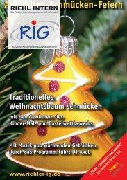 Riehl intern 3-2009 - Riehler Interessengemeinschaft eV