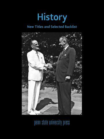 History - Pennsylvania State University Press