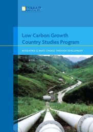Low Carbon Growth Country Studies Program - Climate Change ...