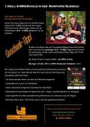 1.Grill- & BBQ-Schule in der Biosphäre Bliesgau