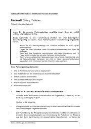 Aludrox®, 320 mg, Tabletten - RIEMSER Arzneimittel AG