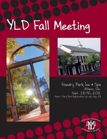 YLD Fall Meeting - State Bar of Georgia