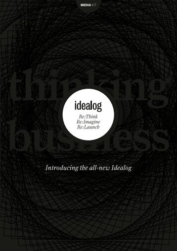 Introducing the all-new Idealog - Tangible Media