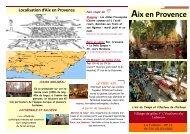 Fiche Aix en Provence.pub - Un coin Tranquille en Provence L ...