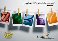 Localnet | Kundeninformation - Localnet AG