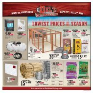 15 % OFF - Del's - Feed And Farm Supply